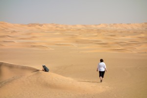 We enter the Empty Quarter...