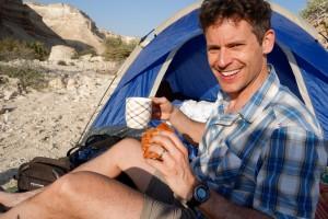 Breakfast in the wadi