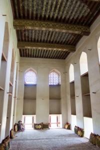 Inside the Sun & Moon room at Jabreen Castle