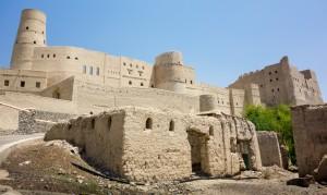 The impressive Balah fort