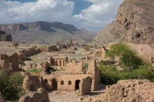 The ruins at Tanuf