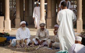 Onion sellers in the souq