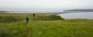 Hiking along the northern coast