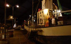 """On the """"docks"""" inside the herring museum"""