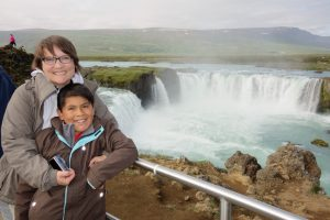 At the Godafoss