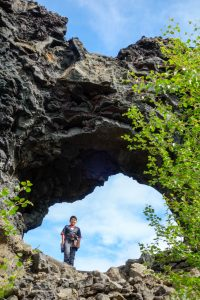 Hiking through the Dimmuborgir