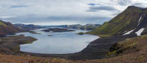 View over Langisjor lake