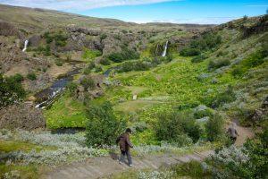 Heading into the fairytale Gjain gorge